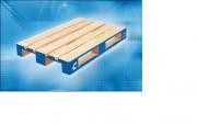 Location palette bois - Palette bois 800 x 1200 mm - tare ± 25 kg