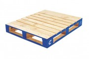 Location palette de manutention en bois - Palette bois standard 1200 x 1000 mm - tare ± 28 kg