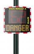 Location radar pédagogique électrique - Parfaite gestion de trafic - 1 à 4 semaines