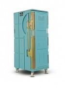 Location roll conteneur isotherme - Volume intérieur 365 Litres