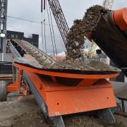 Location sauterelle de chargement - Chargement des camions et entreposage