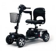 Location scooter électrique PMR 4 roues design sport - Scooters pour handicapés avec accoudoirs relevables