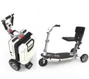 Location scooter électrique PMR pliable - Scooter pour PMR autonomie 17 km