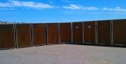 Location toilettes pour événements publics - Hauteur de 210 cm