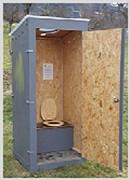 Location toilettes sèches recyclables - Location avec ou sans entretien