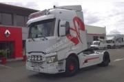 Location tracteur routier Renault occasion à système hydraulique - Puissance : 480 CV, tonnage : 19 tonnes PTC