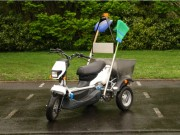 Location tricycle électrique polyvalent - Vitesse maximum 25Km/h