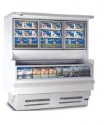 Location vitrine murale frigorifique - Réfrigération par 2 circuits indépendants