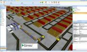 Logiciel 3D de simulation flux production - Logiciel 3D de modélisation pour l'aide à la décision dans les systèmes industriels et logistiques