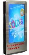 Logiciel d'affichage dynamique web - Sur tous types d'écrans indoor et outdoor