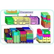Logiciel d'optimisation du chargement - Chargements multi-références