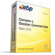 Logiciel de comptabilité et de gestion commerciale EBP Compta & Gestion Commerciale Open Line PRO - Logiciel permettant de gagner en temps et en productivité