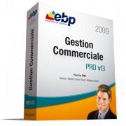 Logiciel de gestion commerciale haut de gamme EBP Gestion Commerciale PRO v13 - Logiciel qui permet de gérer les articles, les ventes, les stocks, les clients...