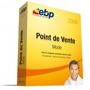 Logiciel de gestion commerciale prêt-à-porter EBP Point de Vente Mode 2009 - Outil spécifique permettant de gérer les gammes, les articles, les stocks, les ventes, les clients...