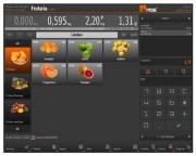 Logiciel de gestion de caisse ETPOS - Interface tactile
