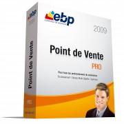 Logiciel de gestion de commerce EBP Point de Vente PRO 2009 - Logiciel haut de gamme permettant de gérer les différentes opérations de la gestion d'un point de vente