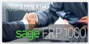 Logiciel de gestion Sage 1000 FRP - Pour les MGE