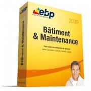 Logiciel gestion commerciale BTP EBP Bâtiment & Maintenance 2009 - Logiciel complet permettant de réaliser devis et factures, suivre vos chantiers, gérer vos contrats et le S.A.V.