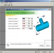 Logiciel mécanique de CAO chaudronnerie - Outil pour vérifier le dimensionnement des piquages