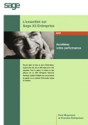 Logiciel SAGE ERP X3 premium edition - ERP évolutif et international préconisée pour les entreprises à partir de 20 postes
