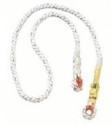 Longe de retenue en corde - Norme EN 354 - Corde 12 mm d'épaisseur