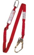 Longe en sangle avec absorbeur d'énergie - Cordeau disponible en 1,75 m et 2 m