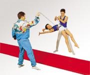 Longes d'acrobatie courtes - Longueur : 1.50 m
