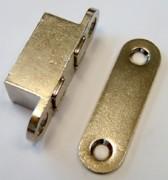 Loqueteau magnétique - Modèle Polair - Nickelé à entailler ou Extra Nickelé à entailler