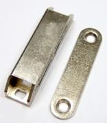 Loqueteaux Magnétiques Nickelés - Modèle : Super Mars - Finition : Nickelé