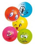 Lot 5 ballons imprimés diamètre 22 cm