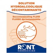 Lot de 10 serviette hydroalcoolique
