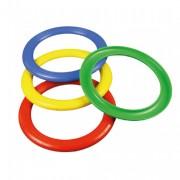 Lot de 12 anneaux à lancer - Diamètre : 15 cm - 4 couleurs disponible
