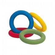 Lot de 12 anneaux souples - Diamètre : 17 cm - Poids : 200 g - 4 coloris