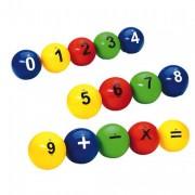 Lot de 14 balle numéroté - Pour apprentissage des mathématiques