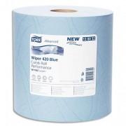 Lot de 2 bobines d'essuyage bleu 2 plis 130052 SCA - Tork