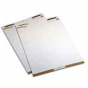 Lot de 2 meeting-chart format 63,5x77,4 cm 30 feuilles - Post-it®