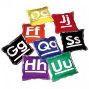 Lot de 26 sachets alphabet - Coussin pour apprentissage de l'alphabet
