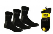 Socquettes Caterpillar - 71 % coton - 28 % polyester - 1% élasthanne  - Tailles : 41/45 ou 46/50