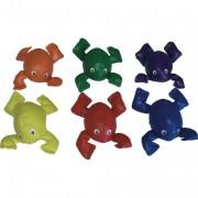 Lot de 6 grenouilles à grelot