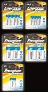 Lot de 8 piles rechargeables Energizer - Lot de 8 piles Energizer proposé sous 5 formats différents