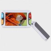 Loupe electronique avec caméra - Poignée dépliable et adaptable en 3 positions