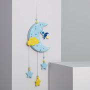 Lumière LED Suspendue Kids Lune - La Lumière LED Suspendue Kids Lune   a un design innovant, parfait pour créer des ambiances très personnalisés