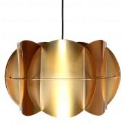 Luminaire à suspension style vintage - Largeur : 23 cm - Hauteur : 36 cm