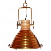 Luminaire style vintage en métal - Dimensions : 37 × 44,5 cm