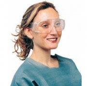 Lunette de protection anti-projection - Conforme à la directive 89/686/CEE et à la norme EN166 (2001