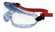 Lunette de sécurité avec monture en PVC - Résistante à la chaleur (90°) - Champ de vision panoramique de 180°
