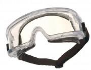 Lunette de sécurité masque antibuée - Monture incolore - Bandeau élastique