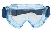 Lunette masque de protection avec monture en PVC - Protection contre : Liquides - Poussières - Gaz - Vapeurs