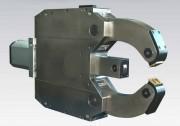 Lunette tour à métaux - Actionnement : hydraulique ou pneumatique