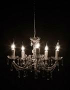 Lustre baroque - Ampoule à économie d'énergie